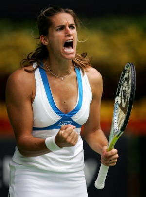 open 2007 day 7 in this photo amelie mauresmo amelie mauresmo ...