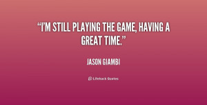 Done Playing Games Quotes