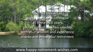 bible congratulations to retirement