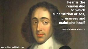 ... and maintains itself - Benedictus de Spinoza Quotes - StatusMind.com