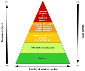 where the recovery model focuses on improving health and wellness