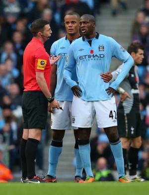 Yaya Toure Protest Referee