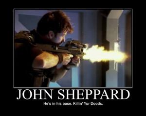 John Sheppard for ya