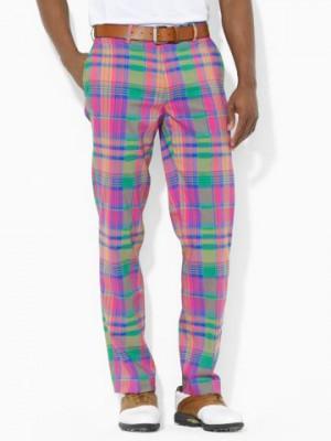 Plaid Greens Pant - RLX Golf Straight - RalphLauren.com: Fashion ...
