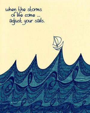 adjust your sails Adjust Your Sails