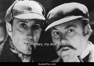 Elementary, my dear Watson – The Adventures of Sherlock Holmes