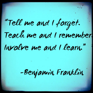good parenting quote by Benjamin Franklin