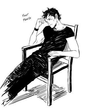 fanart of tobias four from the novel divergent by veronica roth i ve ...