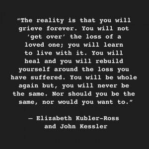Elizabeth Kubler-Ross quote