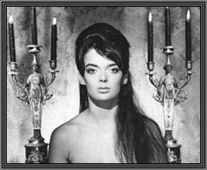 ... weird looking I admit but I always found Barbara Steele captivating