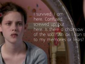 Speak-Movie- with quote by author Laurie Halse-Anderson.