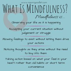What is #mindfulness ?
