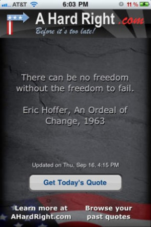 Conservative Quote Of The Day