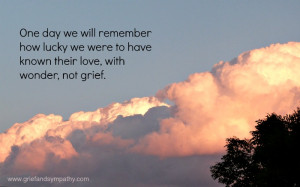 Coping with Grief Quote