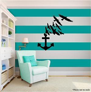 Anchor-BIRDS-Vinyl-Wall-Art-quote-Home-Family-Decor-Decal-Word-Phrase ...