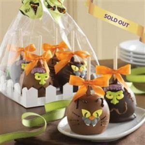 Halloween Caramel Apples Hand decorated?