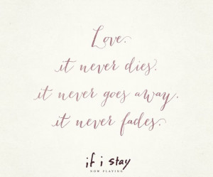 Love #Quotes #IfIStay