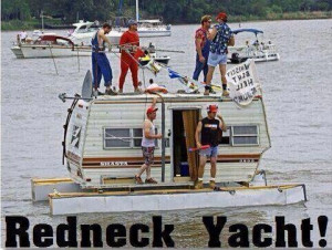 Redneck Yacht - Funny pictures