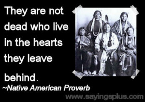 Native American Sayings Proverbs