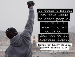 Moviequote: Rocky Balboa (2006)