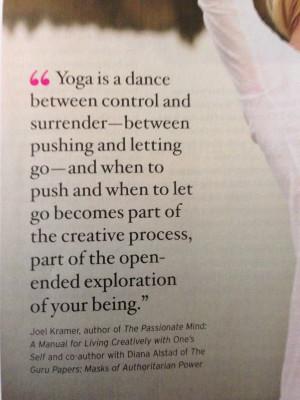 yoga surrender quote