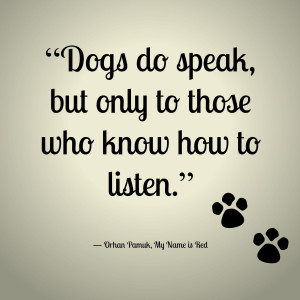 Dog Quotes from Poochie Pets