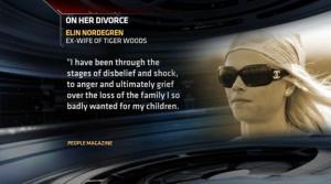 Elin Nordegren Breaks Silence - Talks To People Magazine