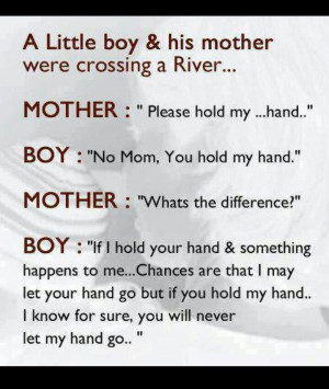 Quotes From A Mother To Her Children A mother's love for her