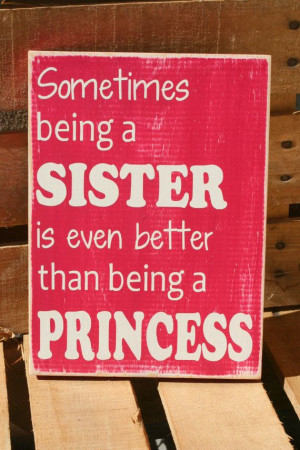 Sisters quote inspirational hand painted wood sign by caitcreate, $25 ...