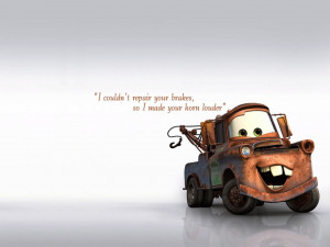 Funny Quotes Cars Movie