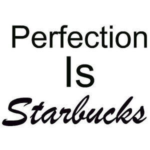 Starbucks Quote liked on Polyvore