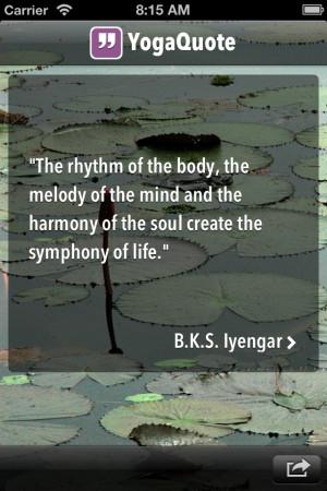 daily inspirational quotes yoga quotesgram