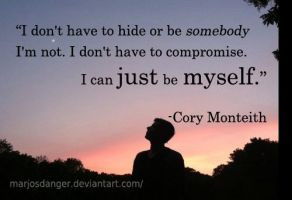 Cory Monteith quotes by MarJosDanger