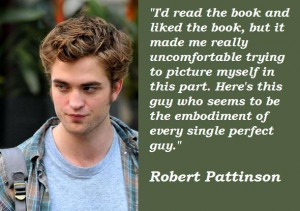 Robert pattinson famous quotes 5