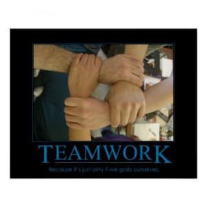 Teamwork Poster by foggylemon