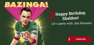 Sheldon Cooper Smile Happy Birthday