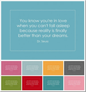 Quotes You know you're in love...
