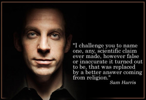 great quote from Sam Harris.