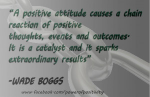 ... sparks extraordinary results. ~Wade Boggs #Quote #Attitude #Positivity