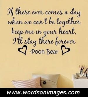 pooh bear quotes about friendship