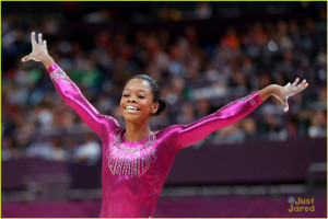 Gabrielle Douglas Wins Gold in Individual All-Around at 2012 Olympics