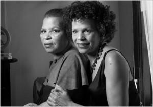 photo of Ntozake Shange and her sister, Ifa Bayeza by Chester Higgins ...