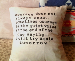 ... with Hand-Stamped Quote. via Etsy. From a range of fantastic quotes