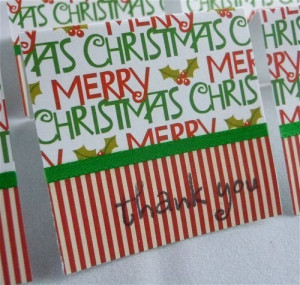 Merry christmas and thank you party quotes