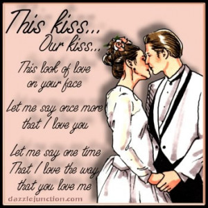 Our Kiss Graphic