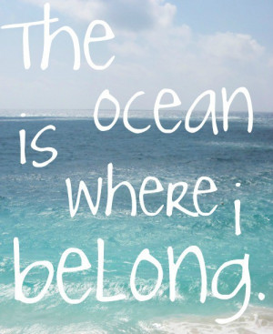 belong, ocean, quote, take me, text, typography