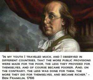 Ben Franklin 1766