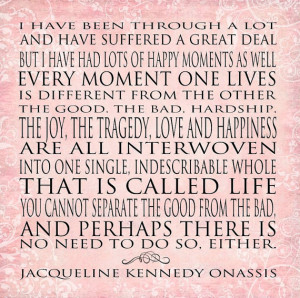Strong Women Jacqueline Onassis Quote Series-12x12 Word Art Prints ...