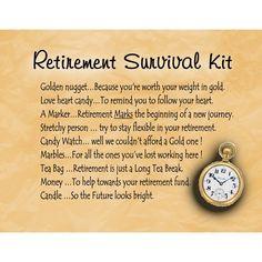 RETIREMENT SURVIVAL KIT: Amazon.co.uk : Kitchen & Home More