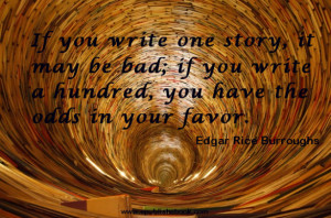 Writer's Quote of the Week – Edgar Rice Burroughs
